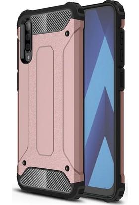Vendas Samsung A50 Secure Serisi Maksimum Korumalı Kılıf - Rose Gold