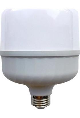 Yücel 30W E27 6500K Led Ampul Beyaz Renk