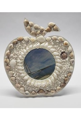 Mrç Dekoratif Deniz Kabuklu Elma Tasarım Albüm Çerçeve