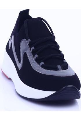Dgn B700 Kadın Kalın Taban Bağcıklı Sneakers Spor Ayakkabı 20Y