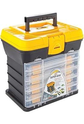 Asrın Plastik Super Bag Organizerli Takım Çantası Asr-2089