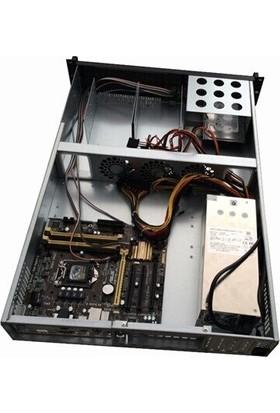 TGC 216N 2u Server Kasa 650 mm 3.5' x 6 Disk