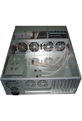 TGC 39550A 3u Serverkasa 550 mm 8x3.5 6xfan