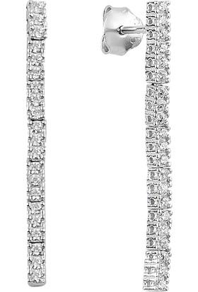 Barış Takı 925 Ayar Gümüş Sıra Salkım Su Yolu Bayan Düğün, Özel Gün Seti Kolye,bileklik,küpe,yüzük