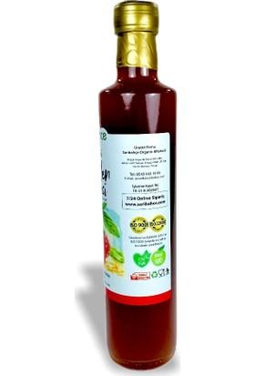 Sarıbahçe Böğürtlen Sirkesi Doğal Fermente 500 ml