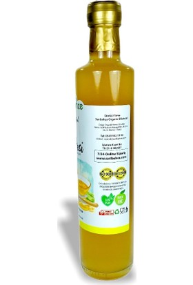 Sarıbahçe Bal Sirkesi Doğal Fermente 500 ml