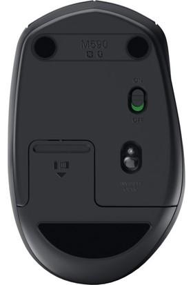 Logitech M590 Multi-Device Sessiz Kablosuz Mouse-Siyah