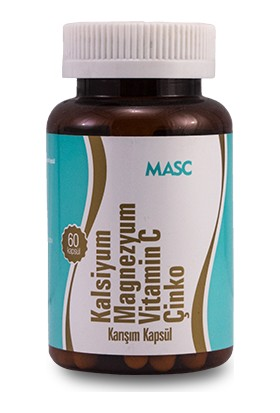 Anti Kalsiyum Magnezyum Vitamin C Çinko