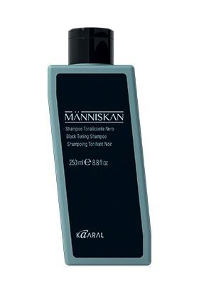 Kaaral Mannıskan Beyaz Kapatıcı Siyah Şampuan 250 ml