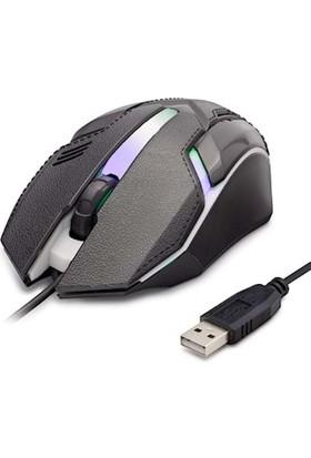 Hadron HR-GR20 LED Oyuncu 1600DPI Mouse