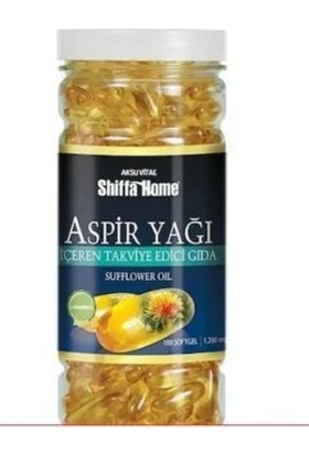 Shiffa Home Aksu Vital Cla L-Karnitin 100 Softjel x 1200 Mg SKT:03/2023