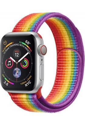 Omelo Apple Watch Hasır Örme Spor Kordon 42 mm
