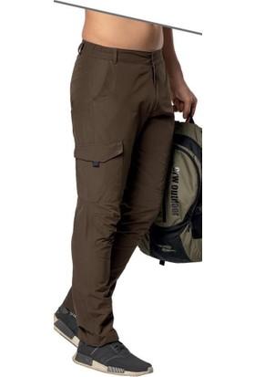 Crozwise Kahverengi Yazlık Outdoor Erkek Pantolon 2142-04