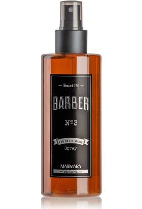 Barber No.3 Sprey Kolonya 250 ml