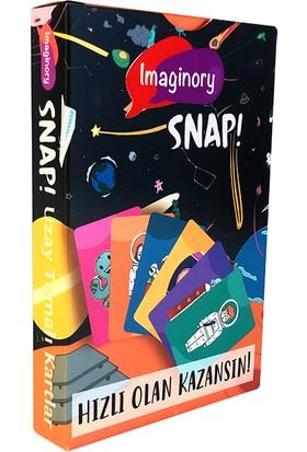 Alice & Grace Imaginory Snap! Kart Oyunu - Uzay Temalı Kartlar