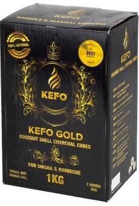 Kefo Gold 1 kg Hindistan Cevizi Kömürü Nargile Kömürü