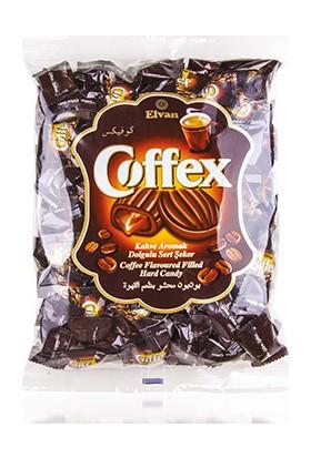Elvan Coffex Kahveli Şeker 1000 gr (1 Poşet)