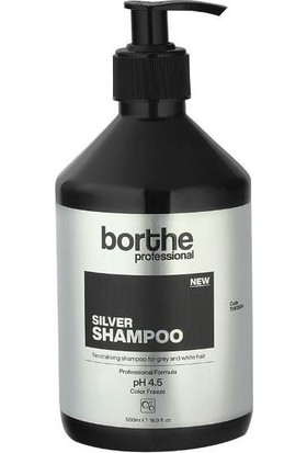 Borthe Profesyonel Silver Şampuan 500 ml
