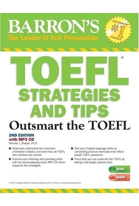 Toefl Strategies And Tips With Mp3 Cds 2e Barron's