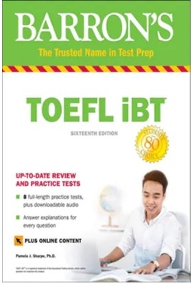 Barron's Toefl Ibt 16 th Edition