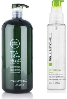 Paul Mitchell Tea Tree Special Şampuan 1000 ml +Super Skinny Serum 150 ml