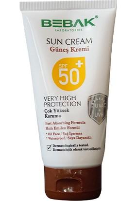 Bebak Nemlendirici Güneş Kremi 50+ Spf 75 ml Kutulu