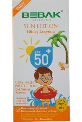 Bebak Bebek Güneş Losyonu 50+ Spf Kutulu 200 ml