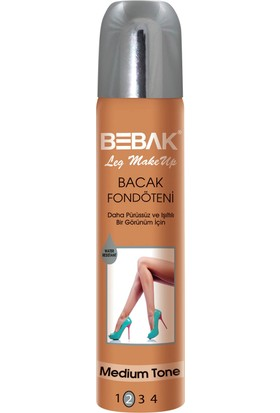 Bebak Bacak Fondöteni Medium Orta 75 ml