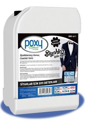 Poxy Siyahlar Için Sıvı Deterjan 5000 ml