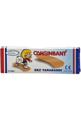 Cansınbant Bez Yara Bandı 10'lu Paket 30 Adet