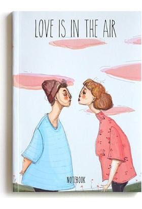 Pulp Love Is In The Air Noktalı Defter A5