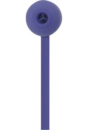 MF Product Acoustic 0133 Mikrofonlu Boyun Askılı Kulak İçi Kablosuz Bluetooth Kulaklık Mavi