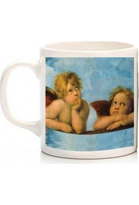 Zelyum Art - Raphael Sanzio - Little Angels Kupa