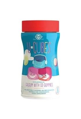 Solgar U-Cubes Children's Calcium + Vitamin D3 Gummies 60 Adet