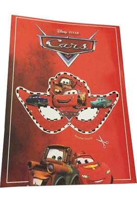 Cars Boyama Kitabı + Stıcker + Maske 10 Adet