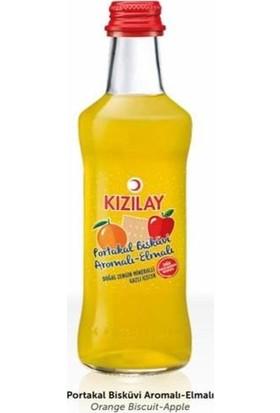 Kızılay Premium Maden Suyu - Portakal Bisküvi Aromalı - Elma Suyu Içerir 250 ml x 24'lü