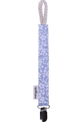 Miniyoki Jasmine Mavi Emzik Askısı - Çiçek Desenli