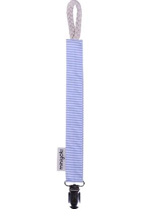 Miniyoki Blue Flow Mavi Emzik Askısı - Çizgili