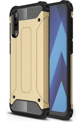 Vendas Samsung Galaxy A70 Secure Serisi Maksimum Korumalı Kılıf - Gold