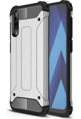 Vendas Samsung Galaxy A70 Secure Serisi Maksimum Korumalı Kılıf - Silver