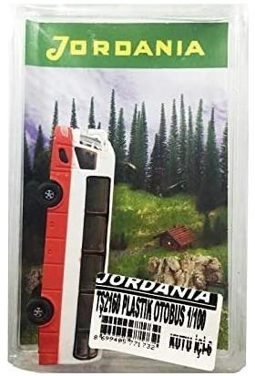 Jordania Maket Plastik Otobüs 1/100 TŞ2160