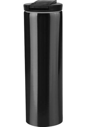 Denge Promosyon Termos 400 ml Siyah