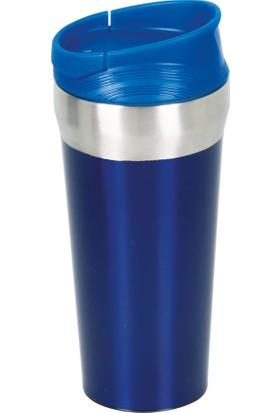 Denge Promosyon Devrilmez Termos 500 ml Mavi
