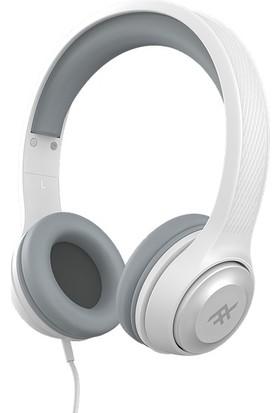 iFrogz Aurora Mikrofonlu Kulak Üstü Kablolu Kulaklık - Beyaz