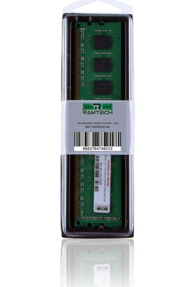 Ramtech 4 gb Ddr3 1333Mhz Masaüstü Pc Ram Amd İşlemcilere Özel 1.5w