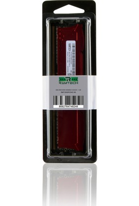 Ramtech 8 gb Ddr4 3000Mhz Masaüstü Pc Ram 1.2w Soğutuculu
