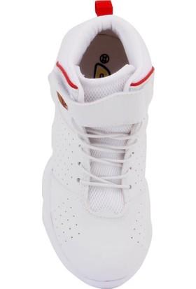 Cool 19-K31 Erkek Çocuk Beyaz Basketbol Spor Ayakkabı