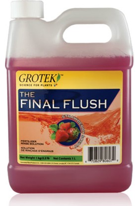 Grotek Final Flush Çilek 1 Litre