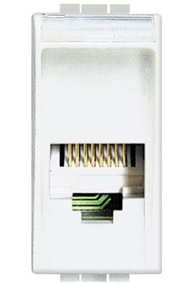 Legrand B Tıcıno Lıght Rj11 2 Çift K10 Bağlantı 8012199294896