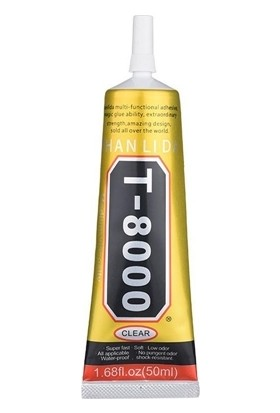 Zhanlida T8000 Dokunmatik Cam Lcd Ekran Yapıştırma Jeli - 50Ml